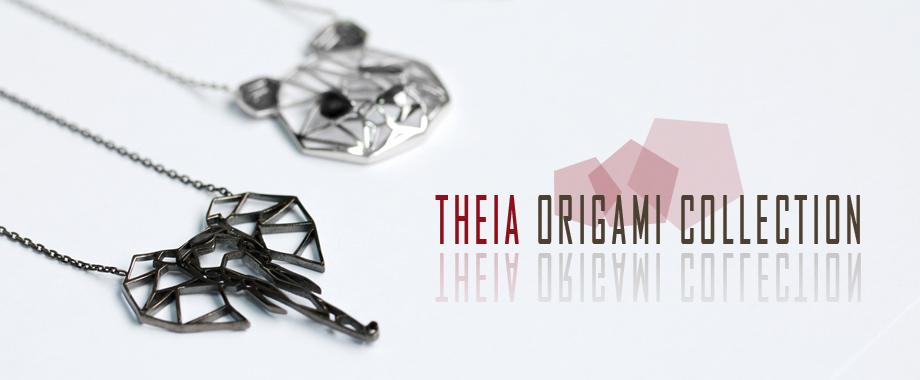 Theia Silver Origami Jewelry