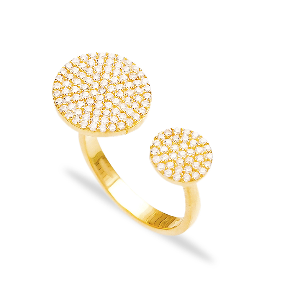 Round Design Wholesale Handcrafted Fashion Silver Ring