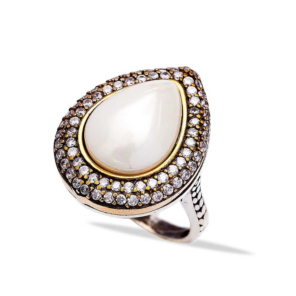 Ottoman Desing Wholesale Handcrafted Authentic Silver Ring