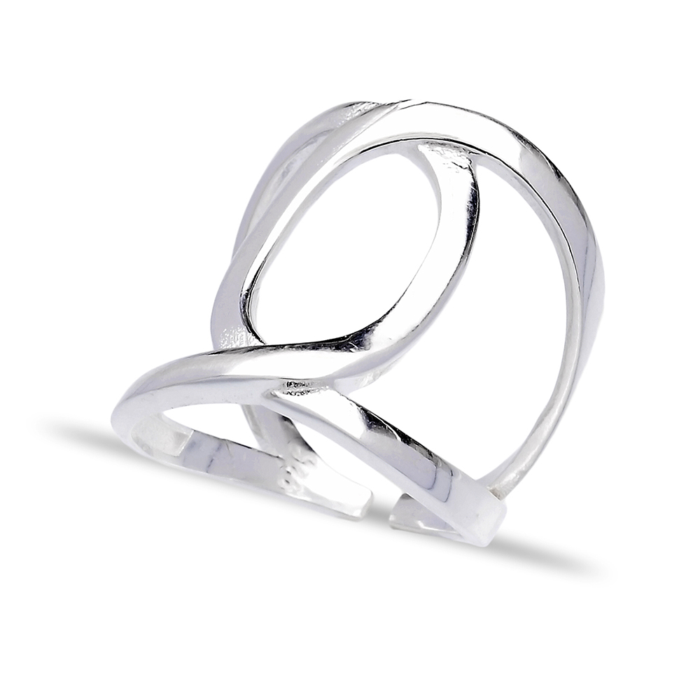 Turkish Wholesale Handcrafted Adjustable Silver Ring