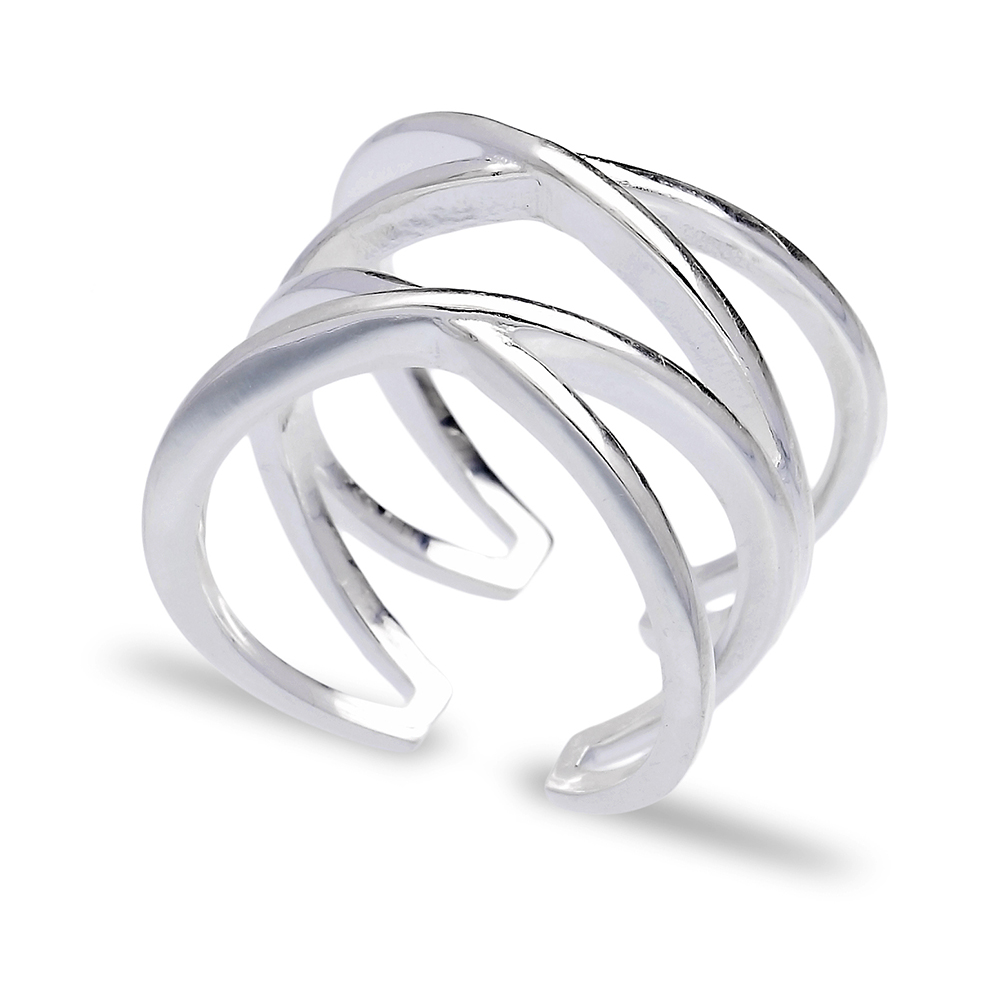 Turkish Wholesale Handcrafted Sterling Silver Simple Ring
