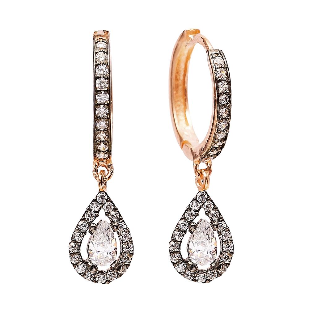 Dangle Drop Earrings Turkish Wholesale Handmade Sterling Silver Earring