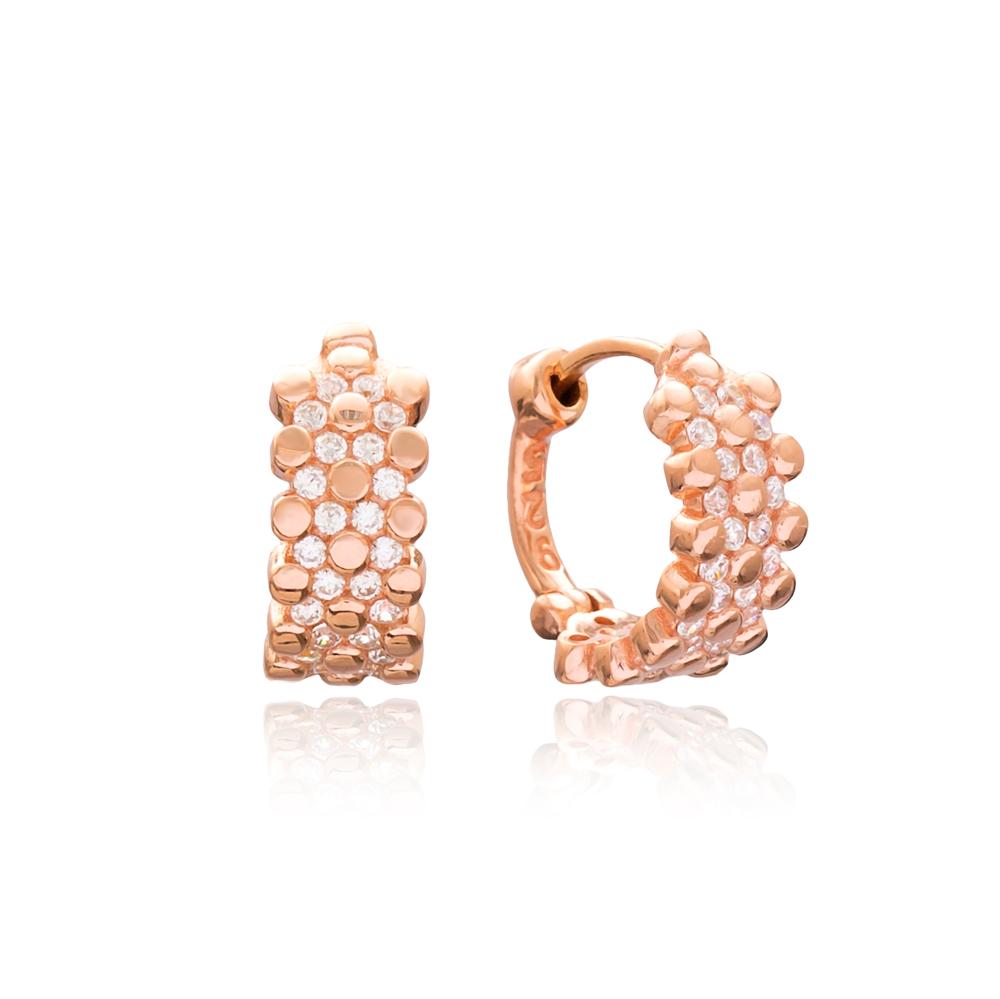 Elegant Design Dangle Earrings Turkish Wholesale Handmade 925 Sterling Silver Jewelry