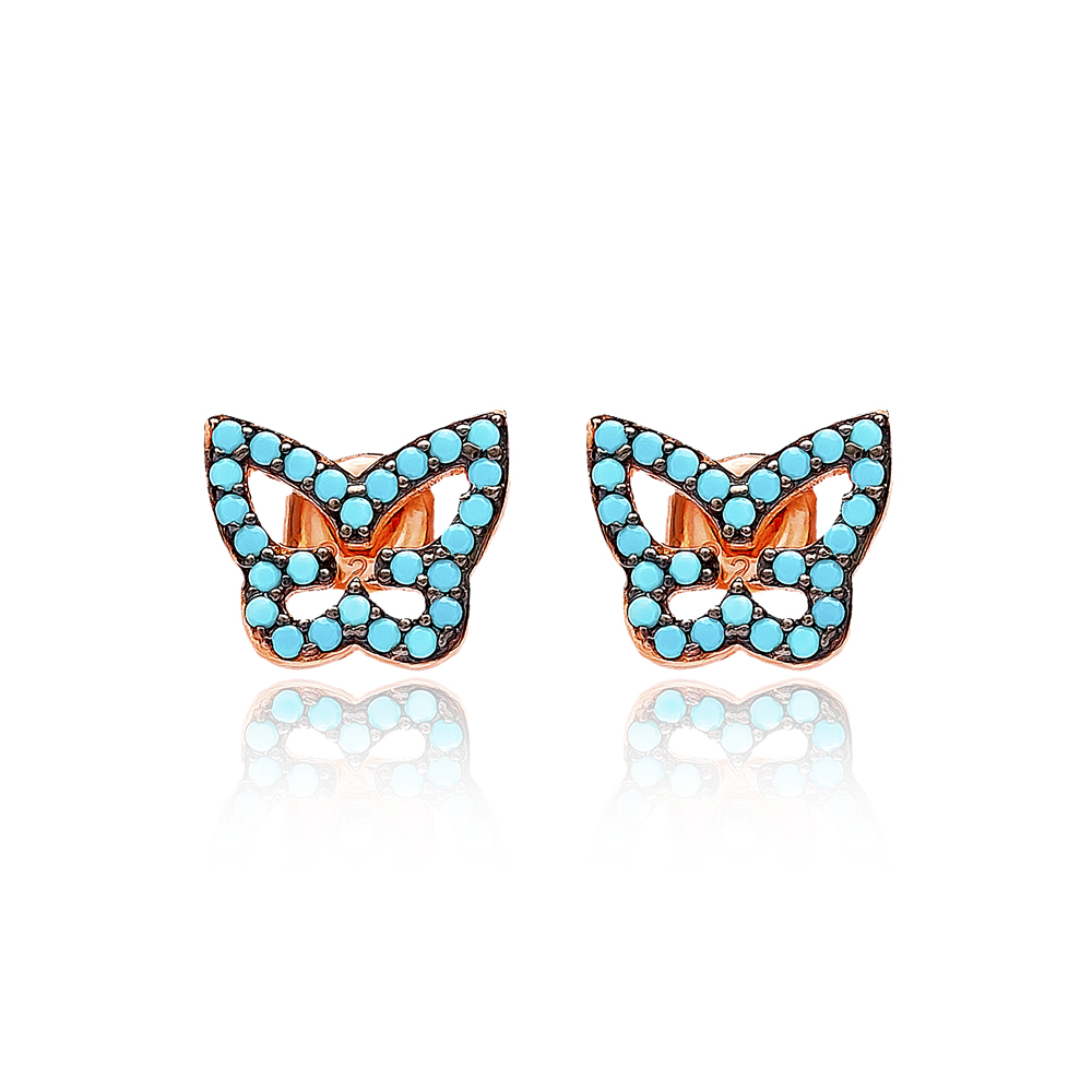 Sterling Silver Stud Earring Wholesale Handcrafted Silver Earring