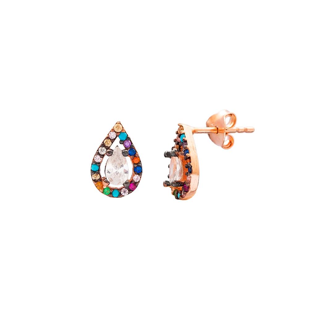 Minimal Silver Earring Wholesale 925 Sterling Silver Jewelry