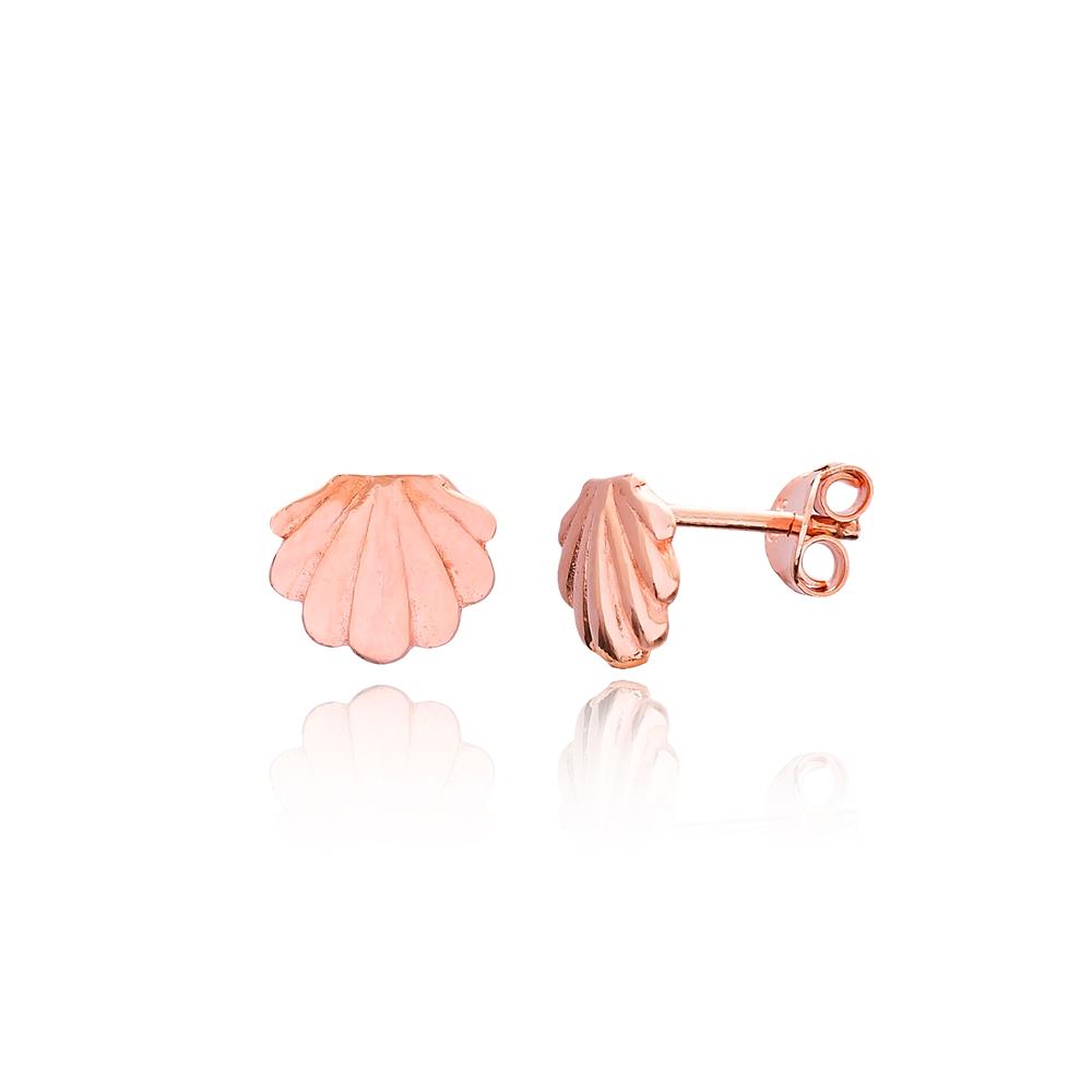 Stud Seashell Earrings Turkish Wholesale Sterling Silver Earring