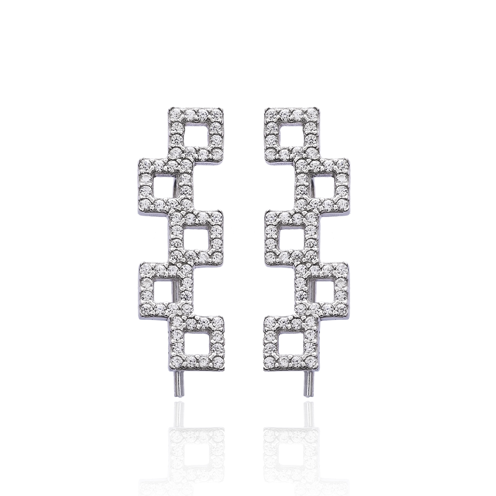 Ear Cuff Turkish Wholesale Handcrafted Silver Earring
