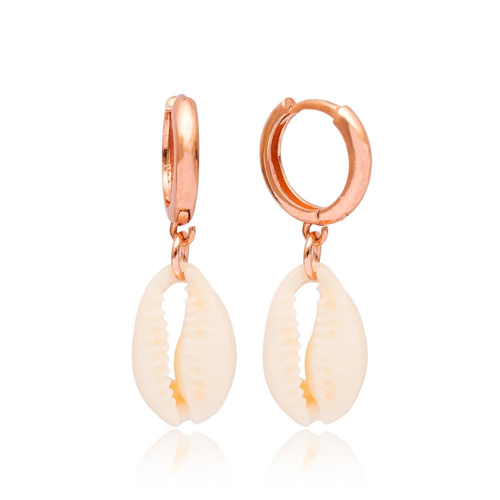 Seashell Dangle Earrings Turkish Wholesale Sterling Silver Earring
