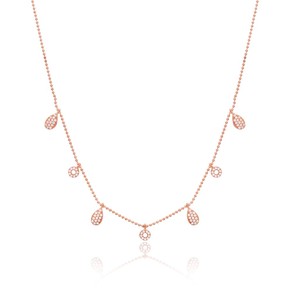 Minimalist Design Turkish Wholesale Handcrafted 925 Silver Necklace