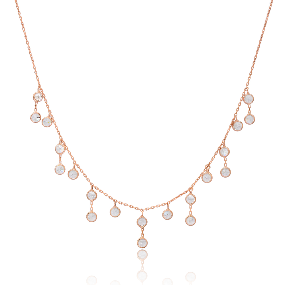 Dainty Shaker Design Turkish Wholesale Handcrafted 925 Silver Necklace