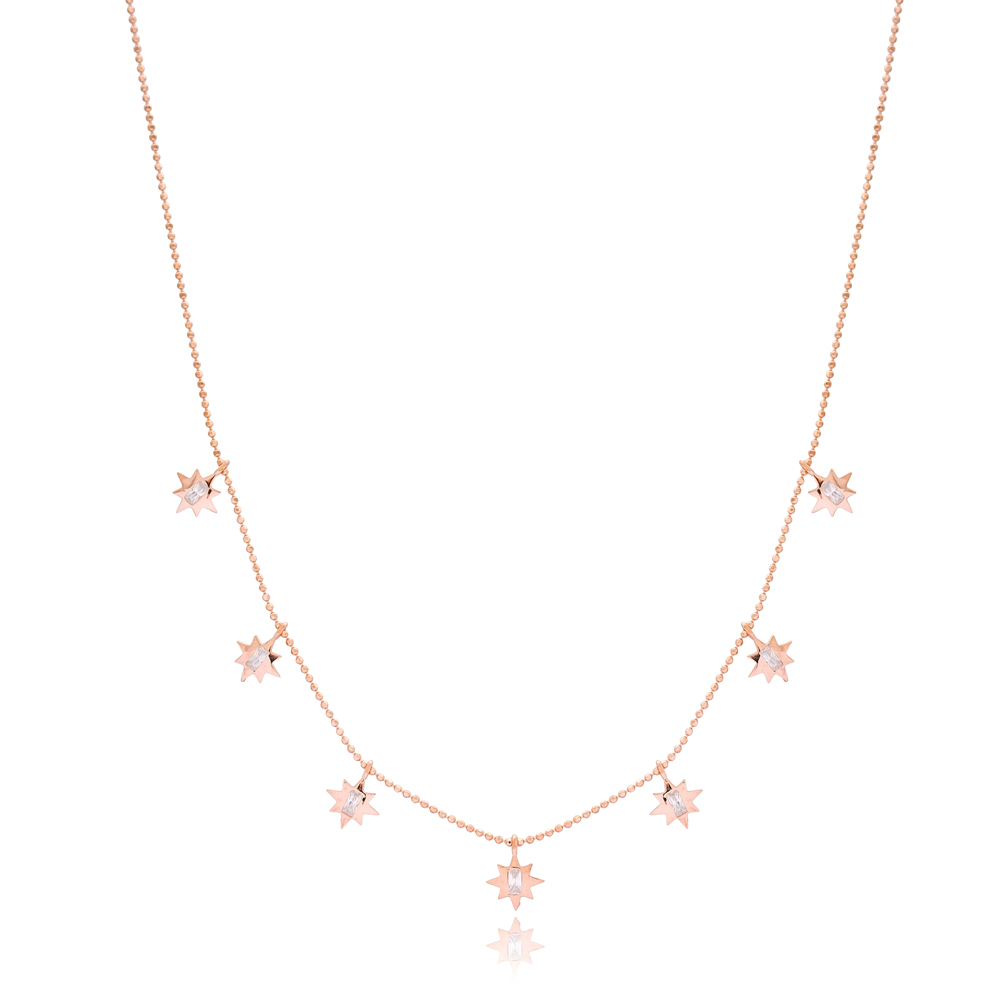 Pole Star Charm Necklace Wholesale Handmade 925 Silver Sterling Jewelry