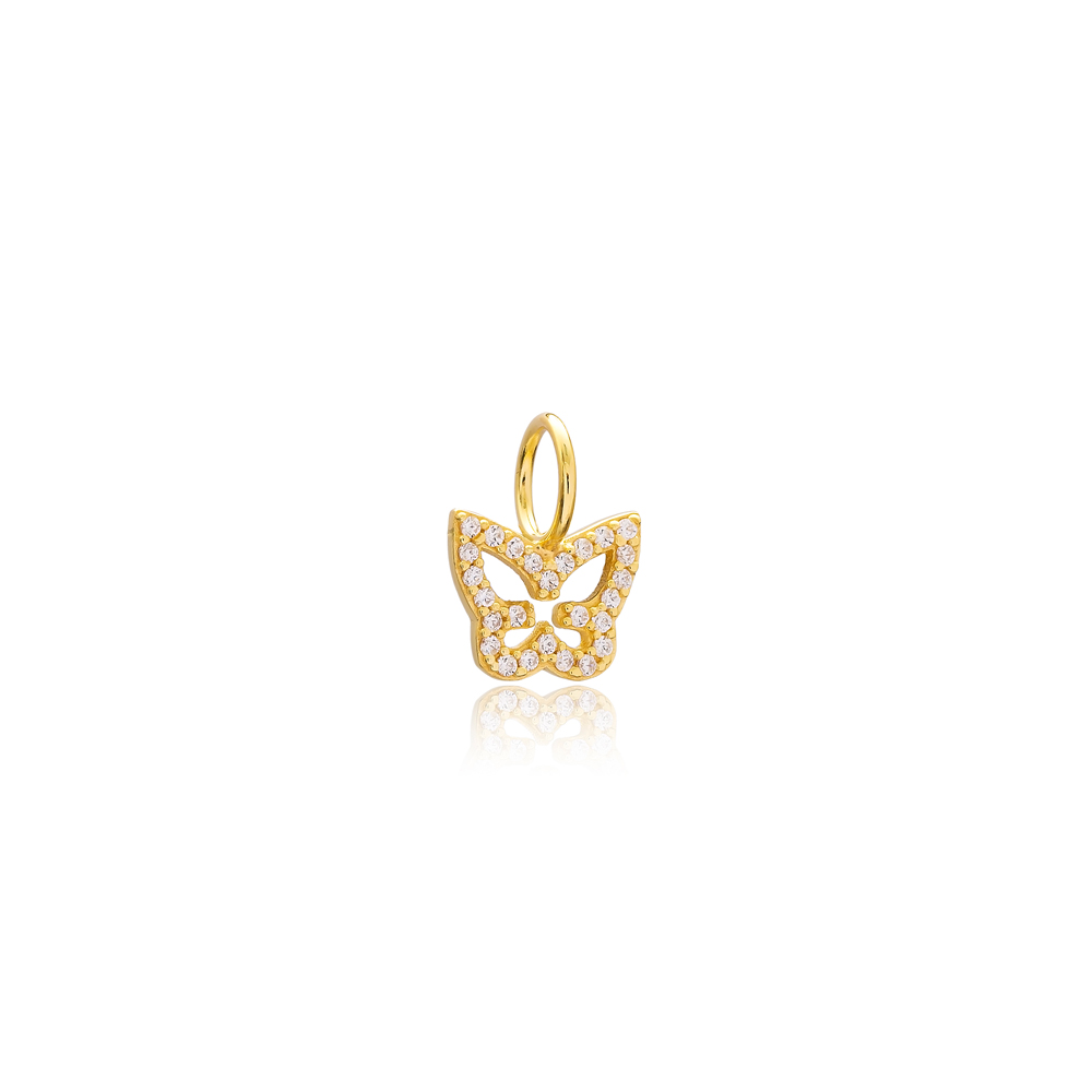 Butterfly Charm Wholesale Handmade Turkish 925 Silver Sterling Jewelry