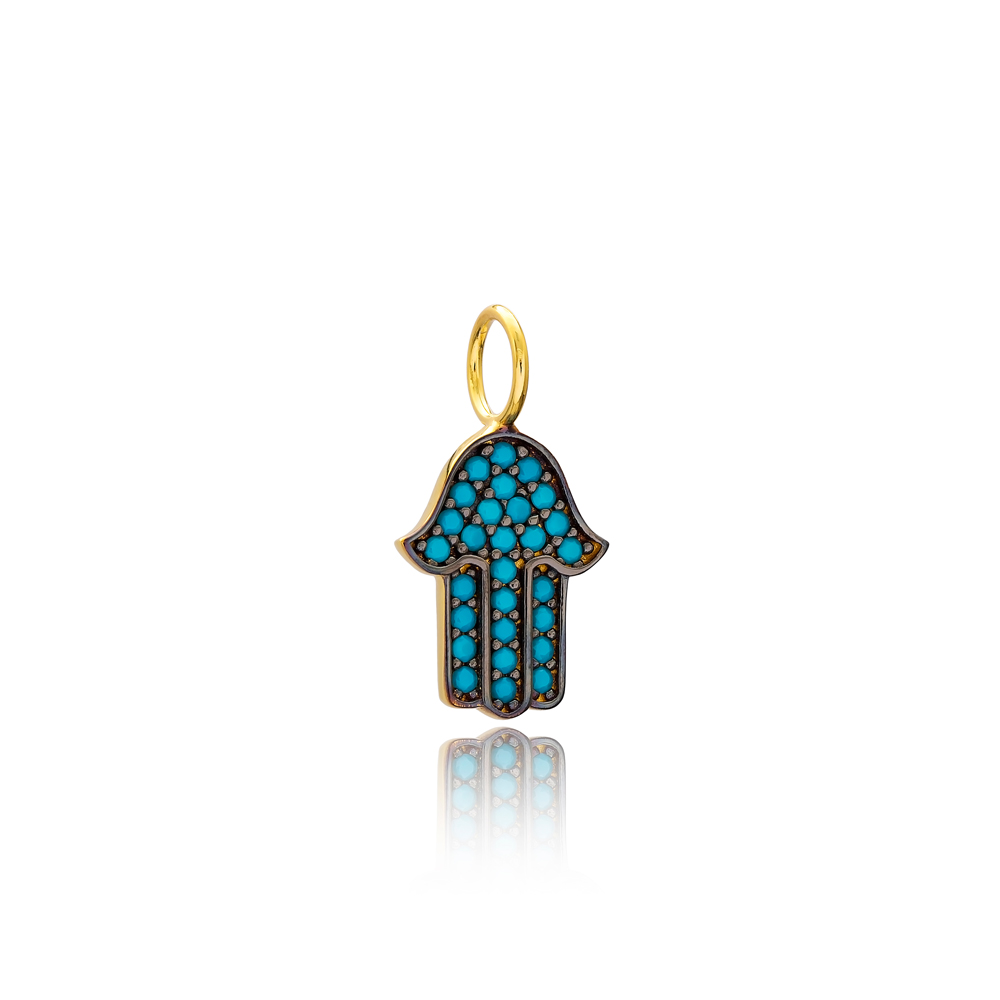 Hamsa Charm Wholesale Handmade Turkish 925 Silver Sterling Jewelry