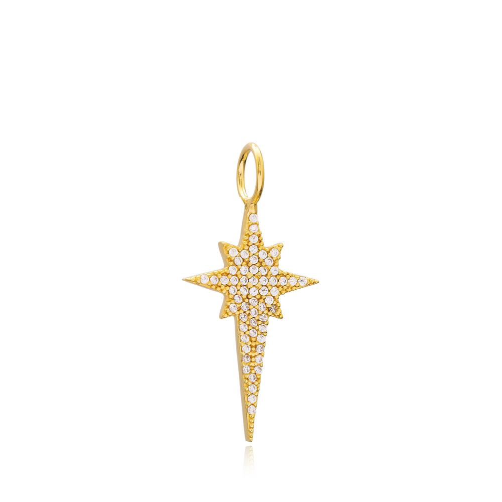 Pole Star Charm Wholesale Handmade Turkish 925 Silver Sterling Jewelry