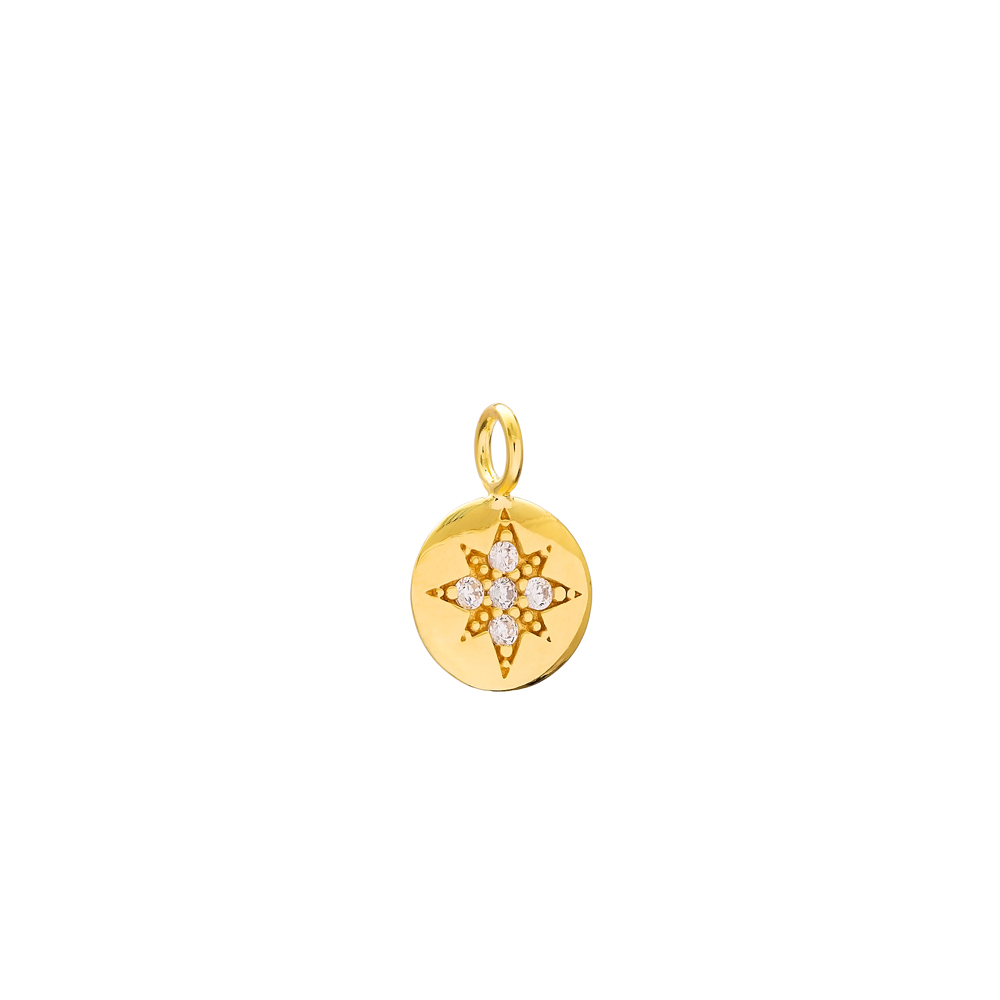 North Star Charm Wholesale Handmade Turkish 925 Silver Sterling Jewelry
