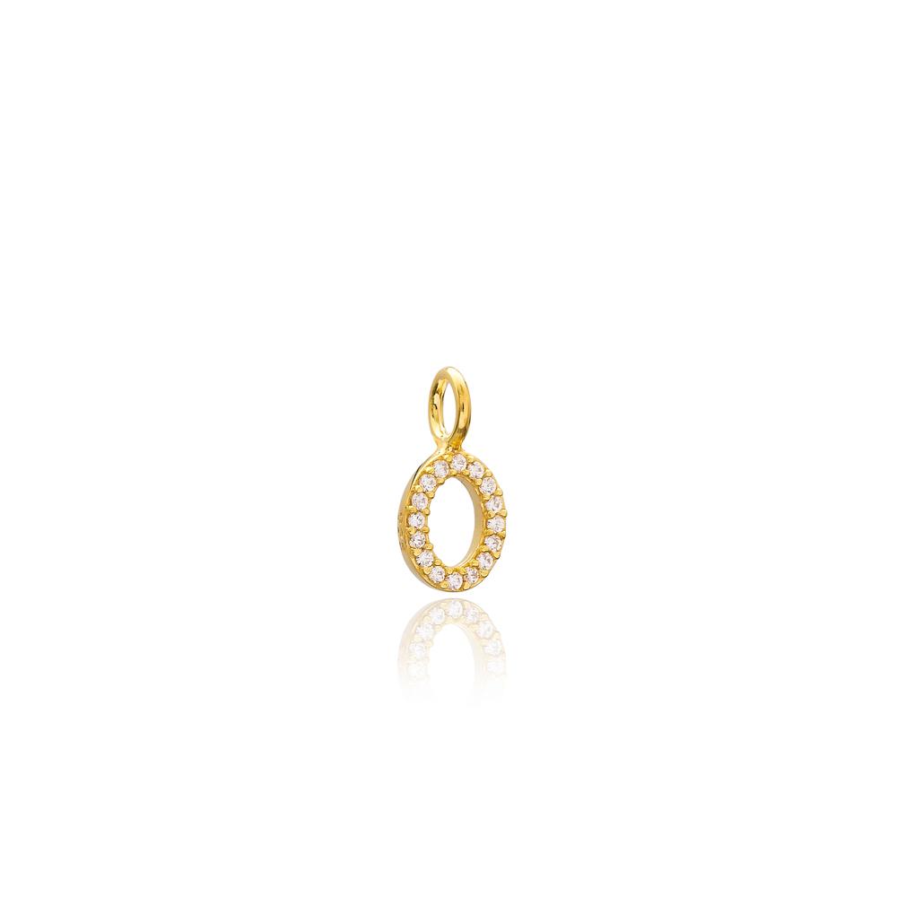 Oval Shape Charm Wholesale Handmade Turkish 925 Silver Sterling Jewelry