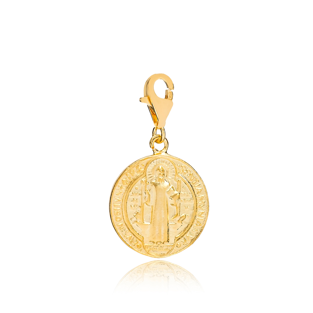 Jesus The Sun Of God Charm Wholesale Handmade Turkish 925 Silver Sterling Jewelry