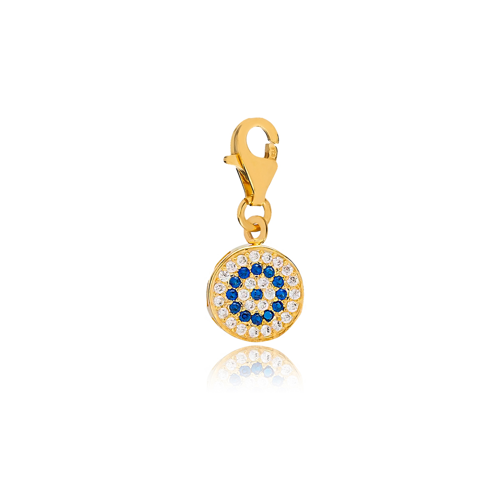 Evil Eye Charm Wholesale Handmade Turkish 925 Silver Sterling Jewelry