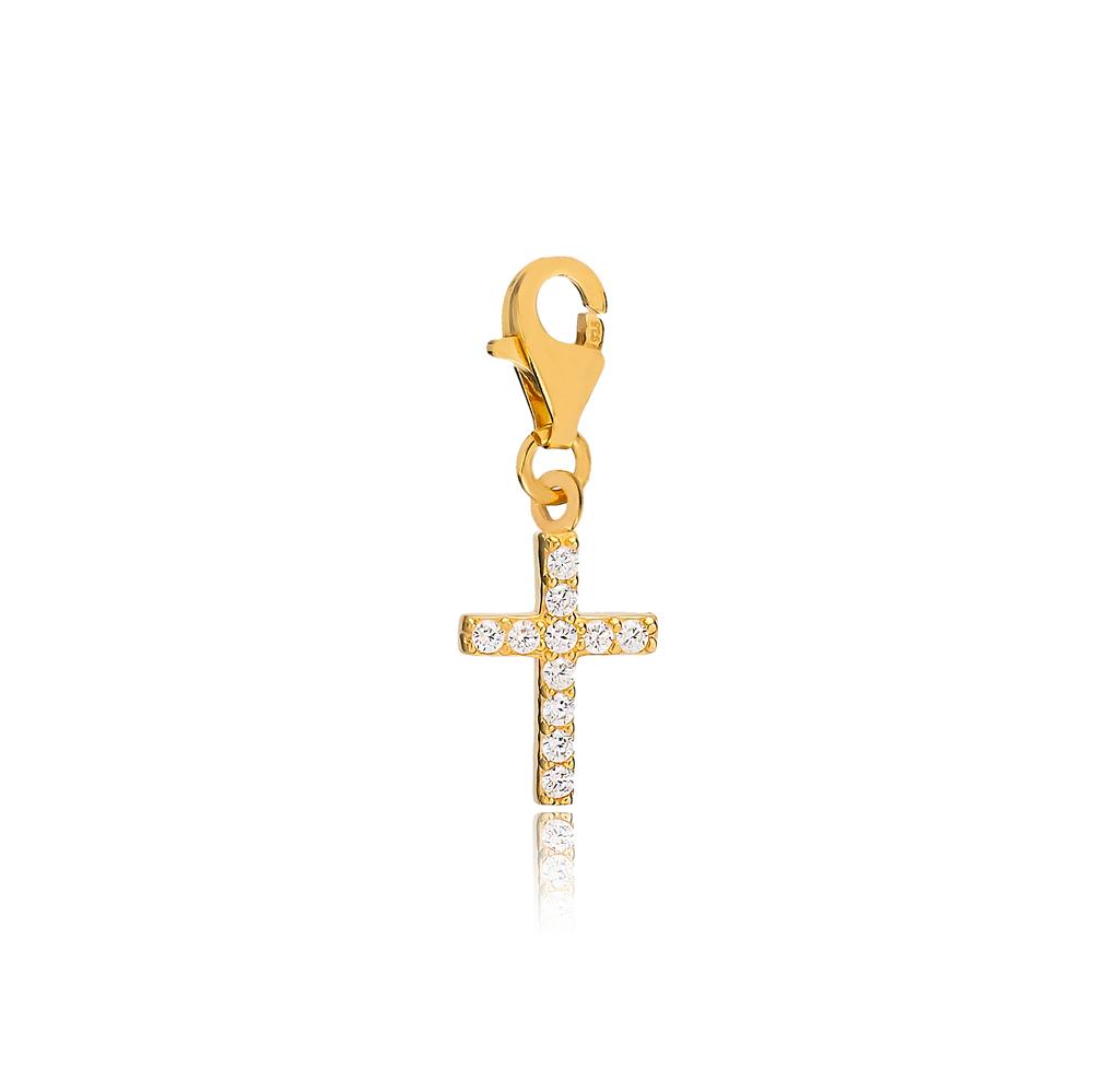 Cross Charm Wholesale Handmade Turkish 925 Silver Sterling Jewelry