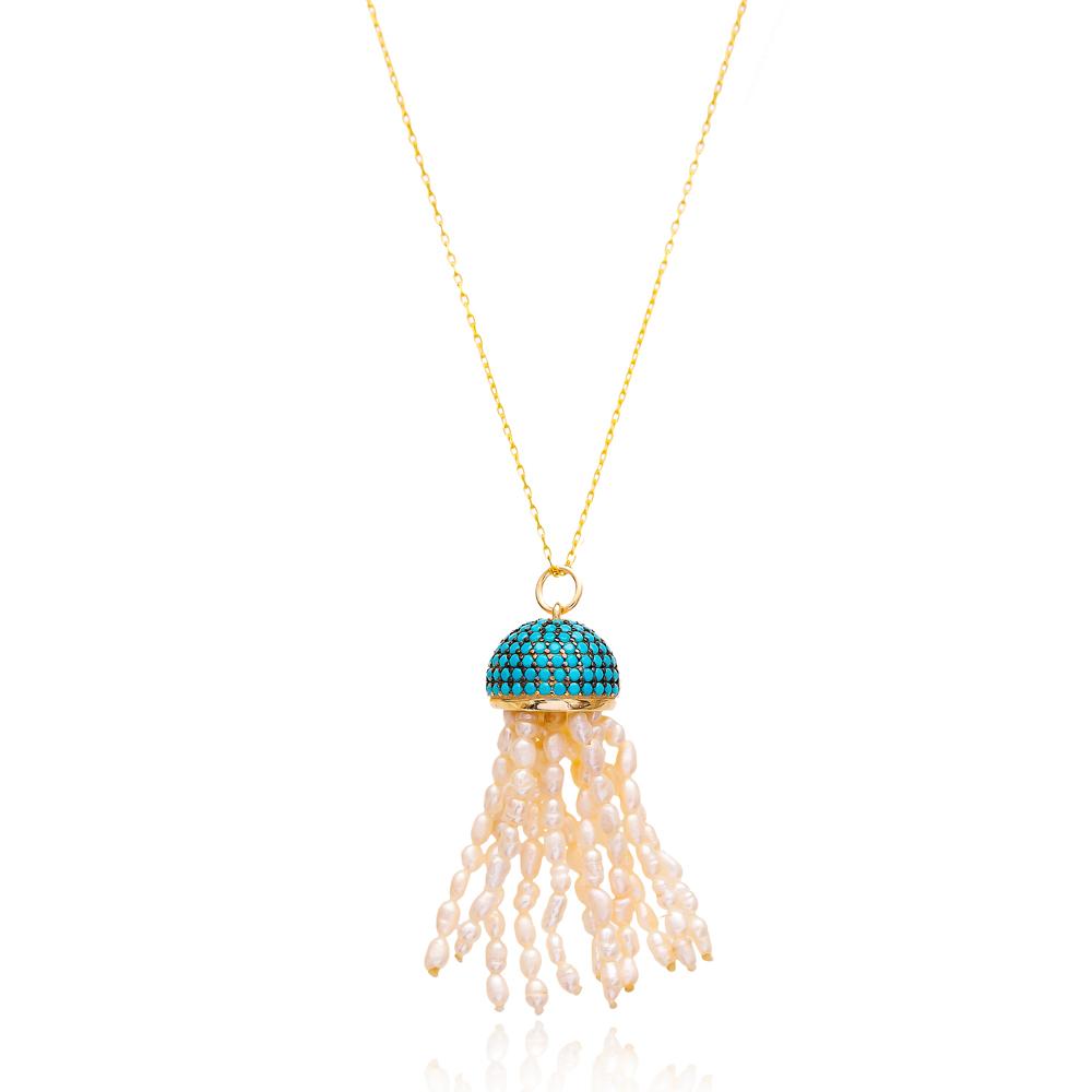 Jellyfish Turkish Wholesale Sterling Silver Pendant