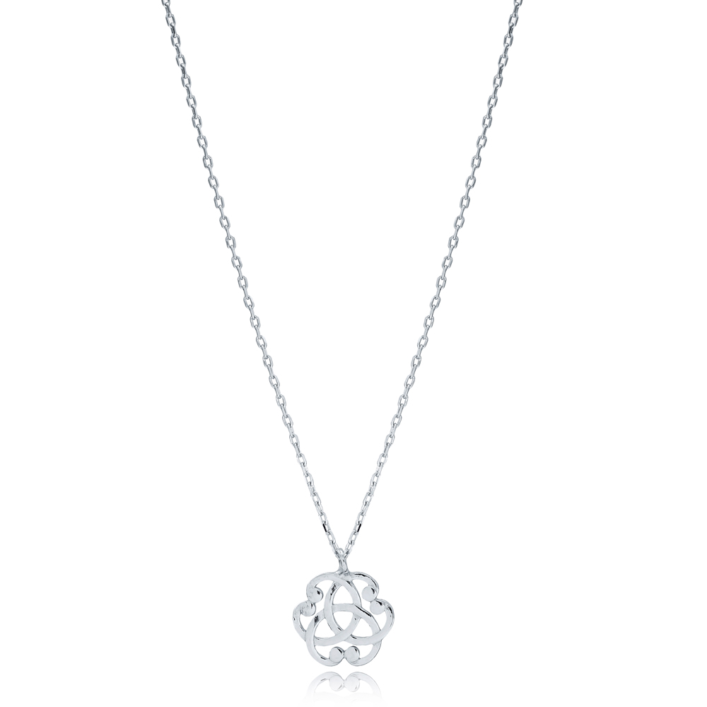 New Trendy Fine Necklace Turkish Wholesale 925 Sterling Silver Jewelry