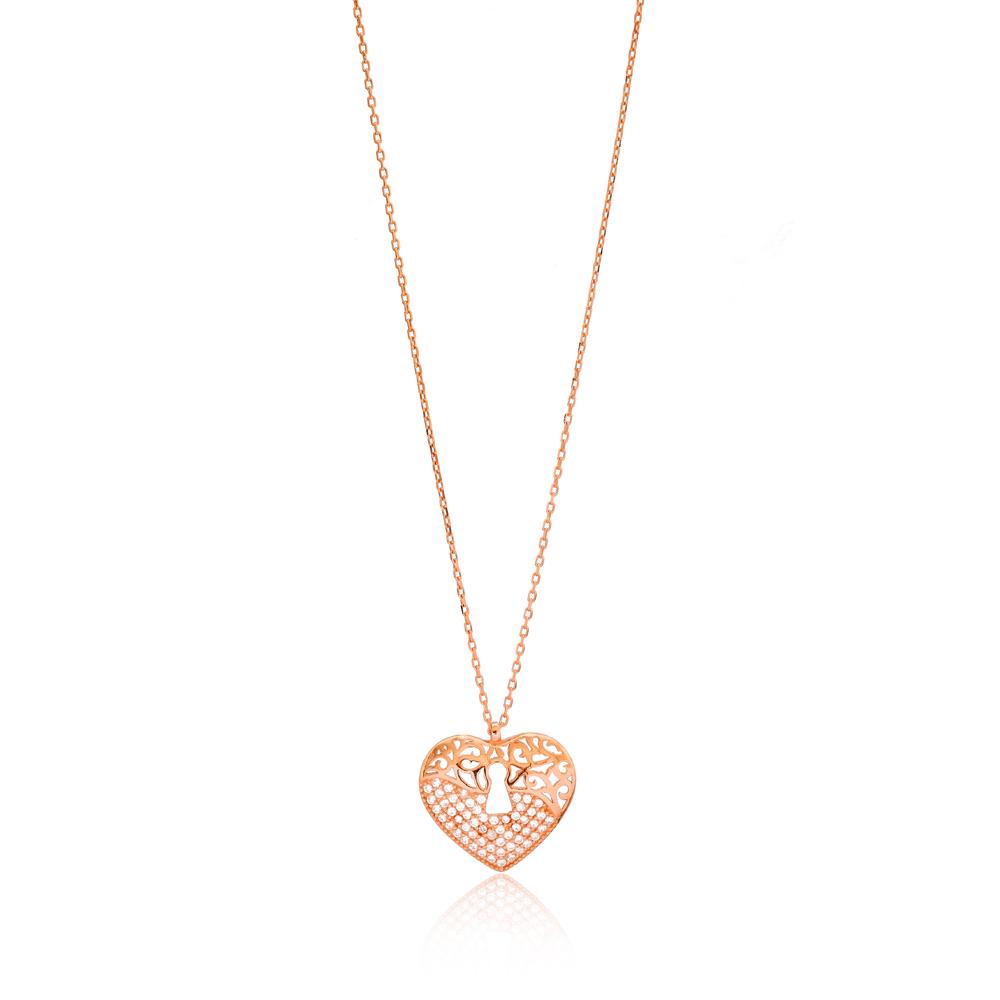 Heart Design Pendant Wholesale Sterling Silver Jewelry