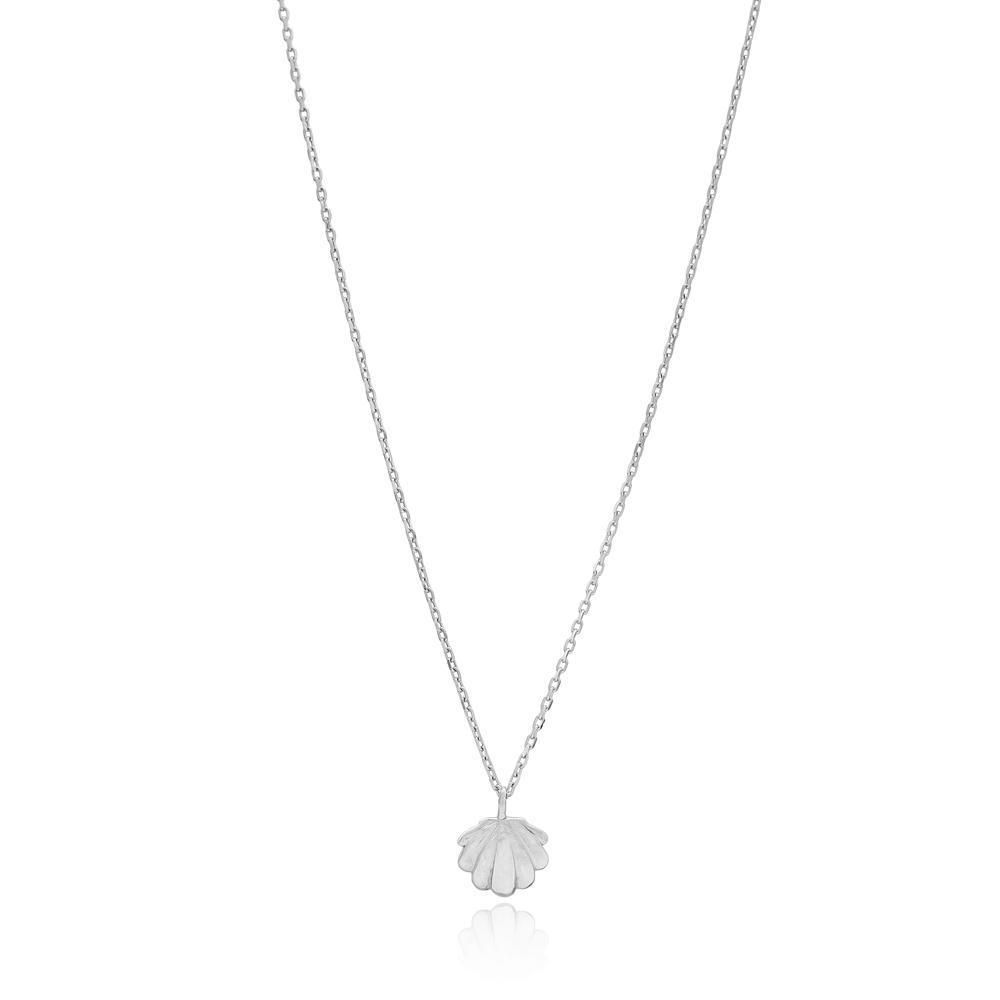 Seashell Design Pendant Wholesale 925 Sterling Silver Jewelry