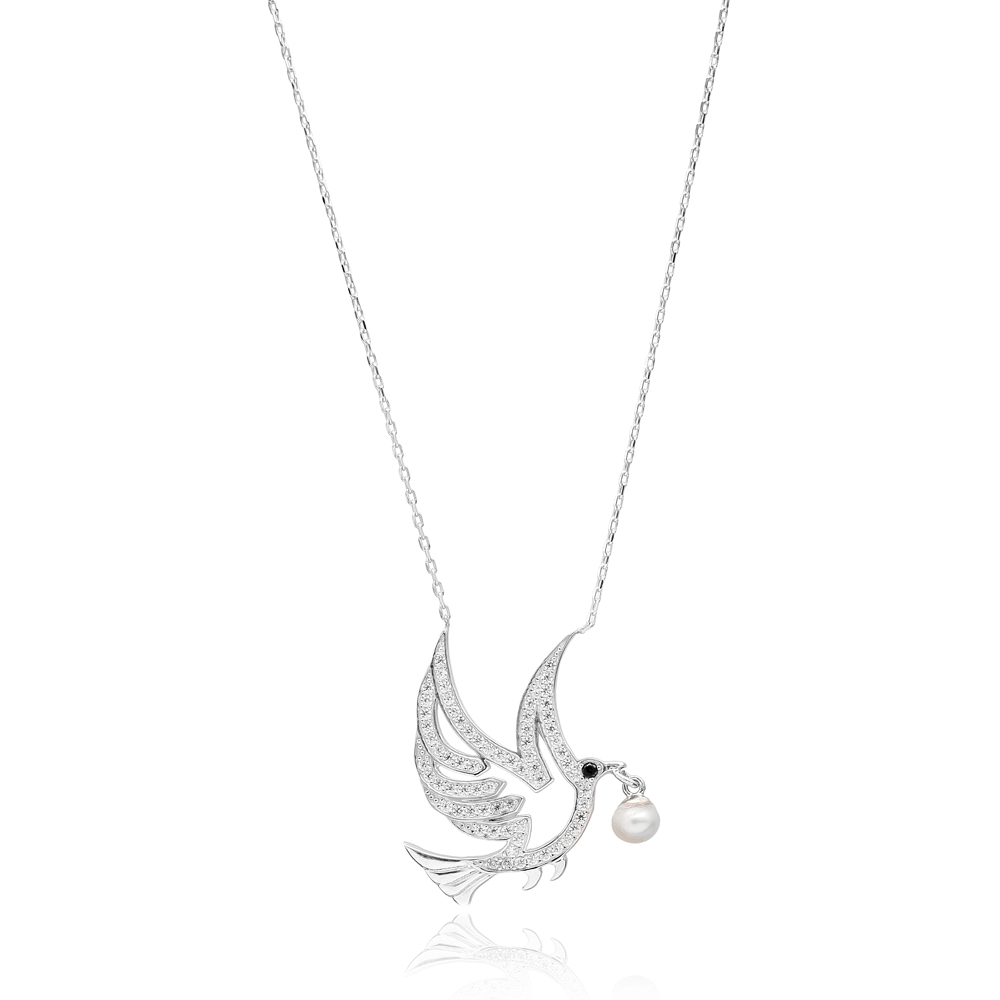 Bird DesignTurkish Wholesale Sterling Silver Pendant