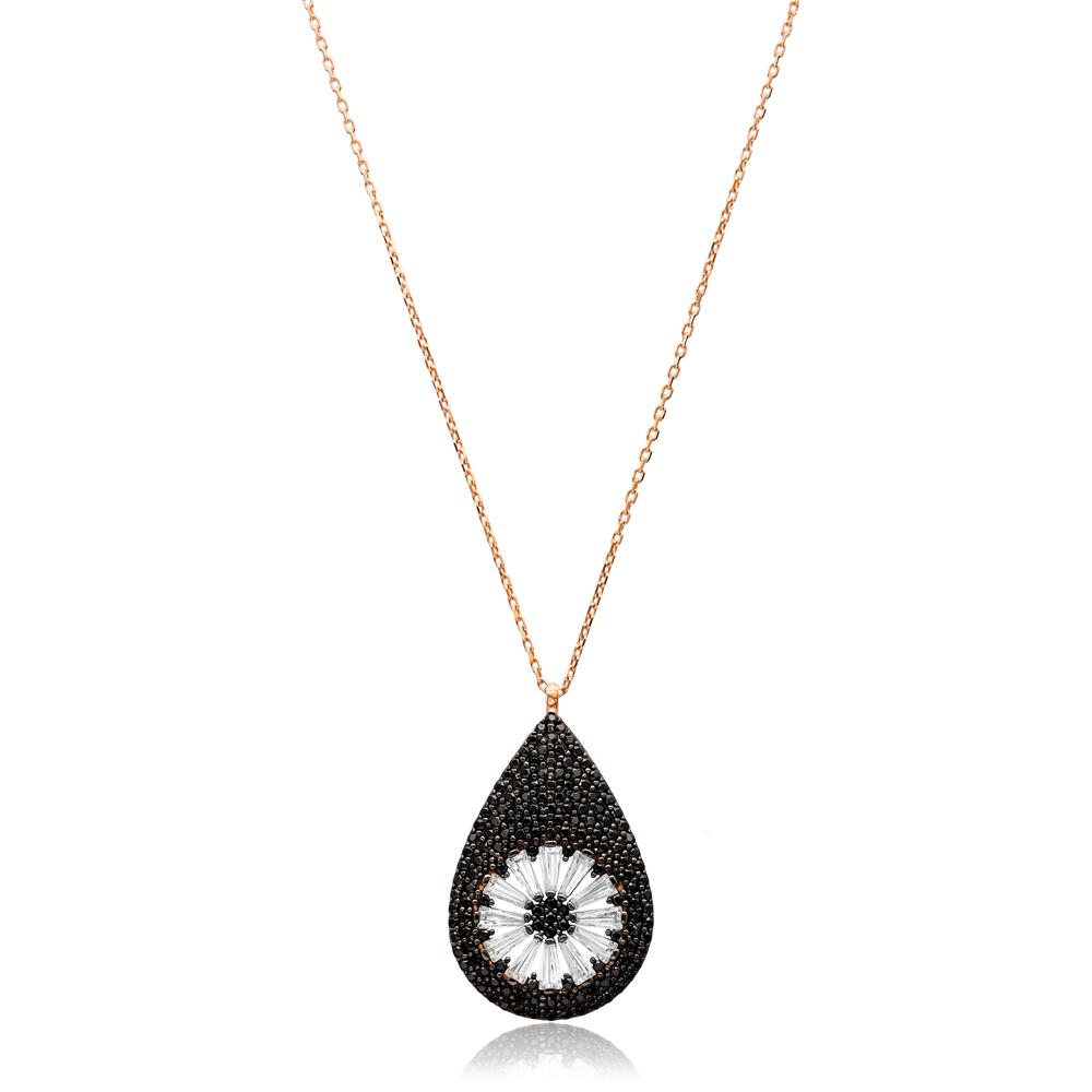 Minimalist Drop Design In Turkish Wholesale Sterling Silver Pendant