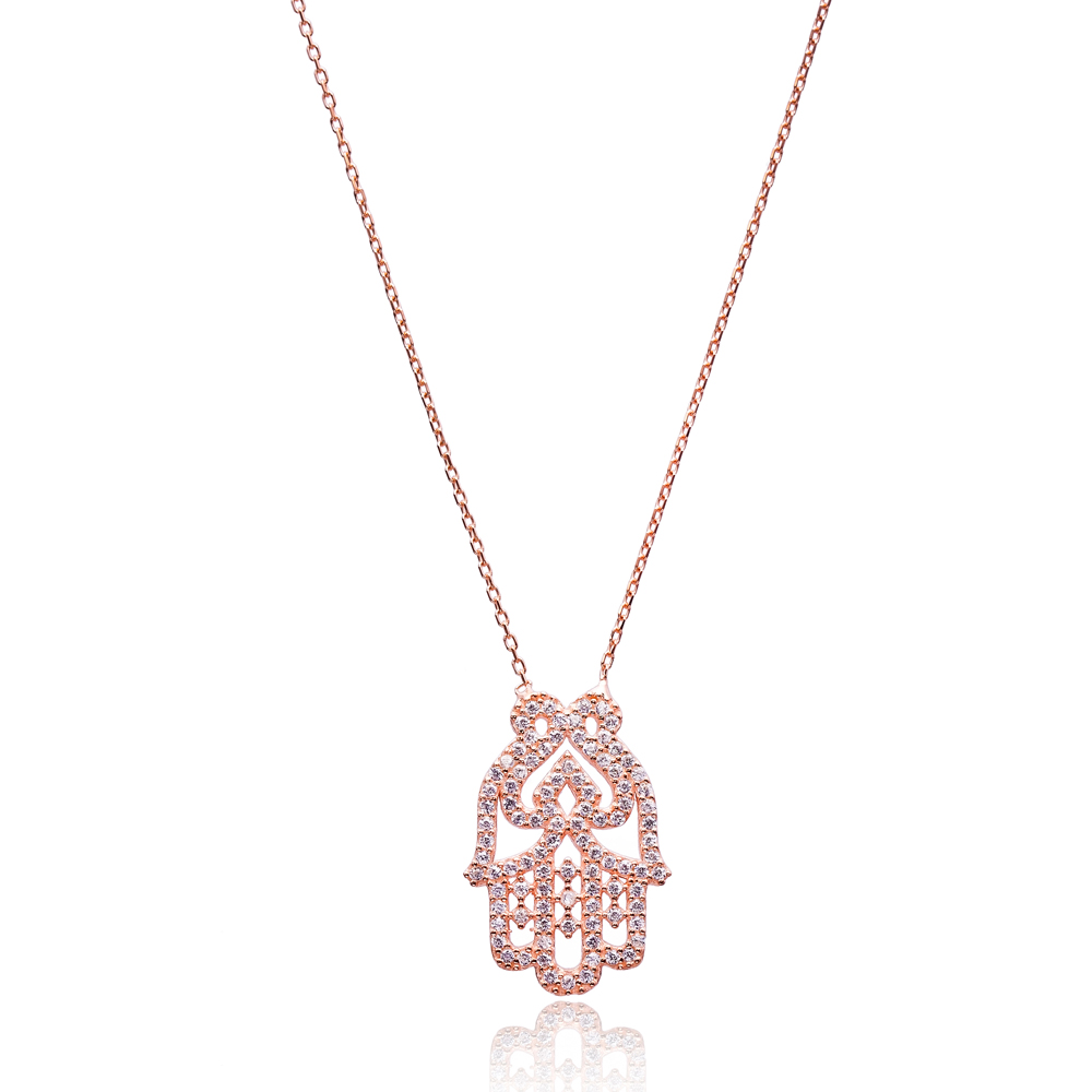 Hamsa Pendant Turkish Wholesale Sterling Silver Jewelry Pendant