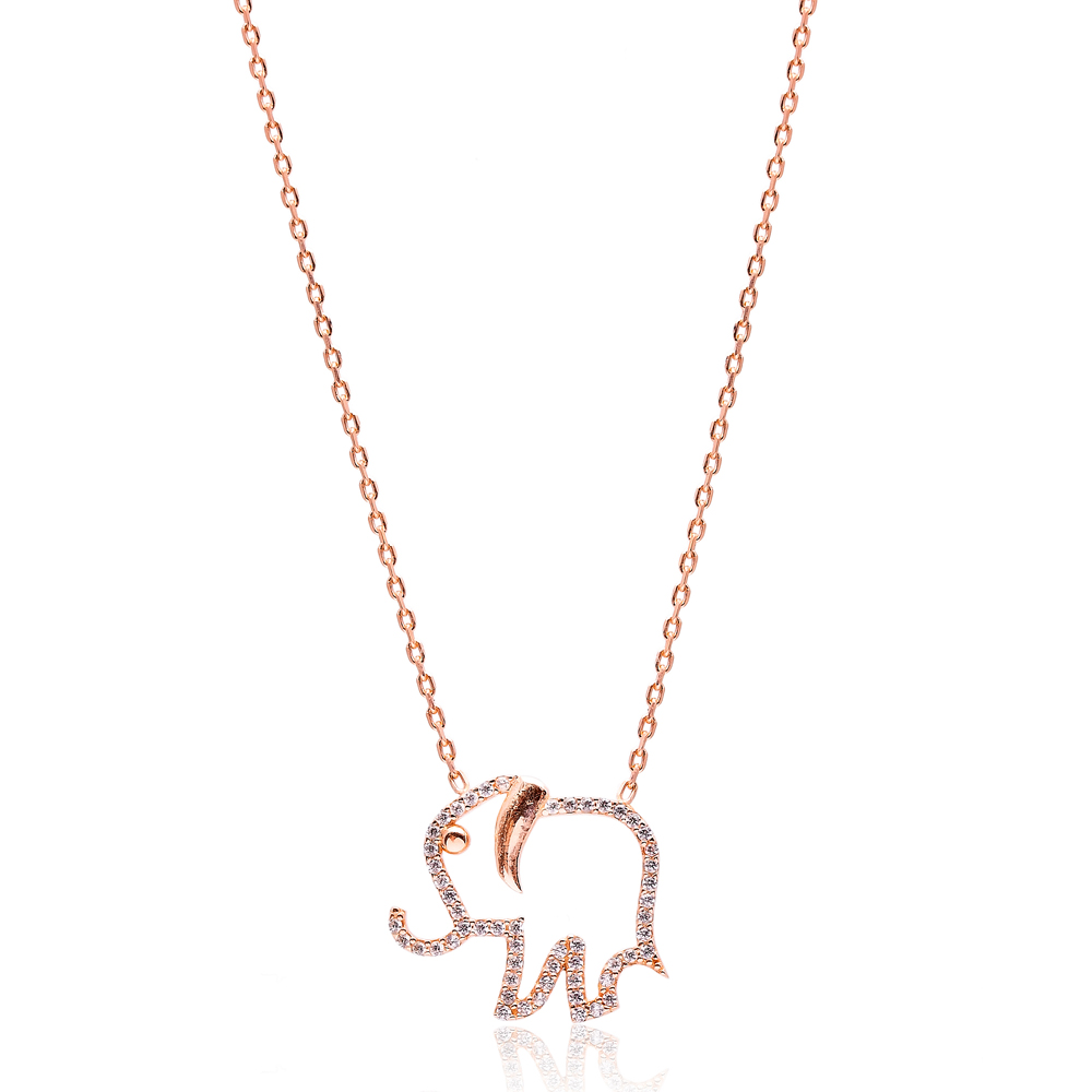 Elephant Pendant In Turkish Wholesale Silver Pendant