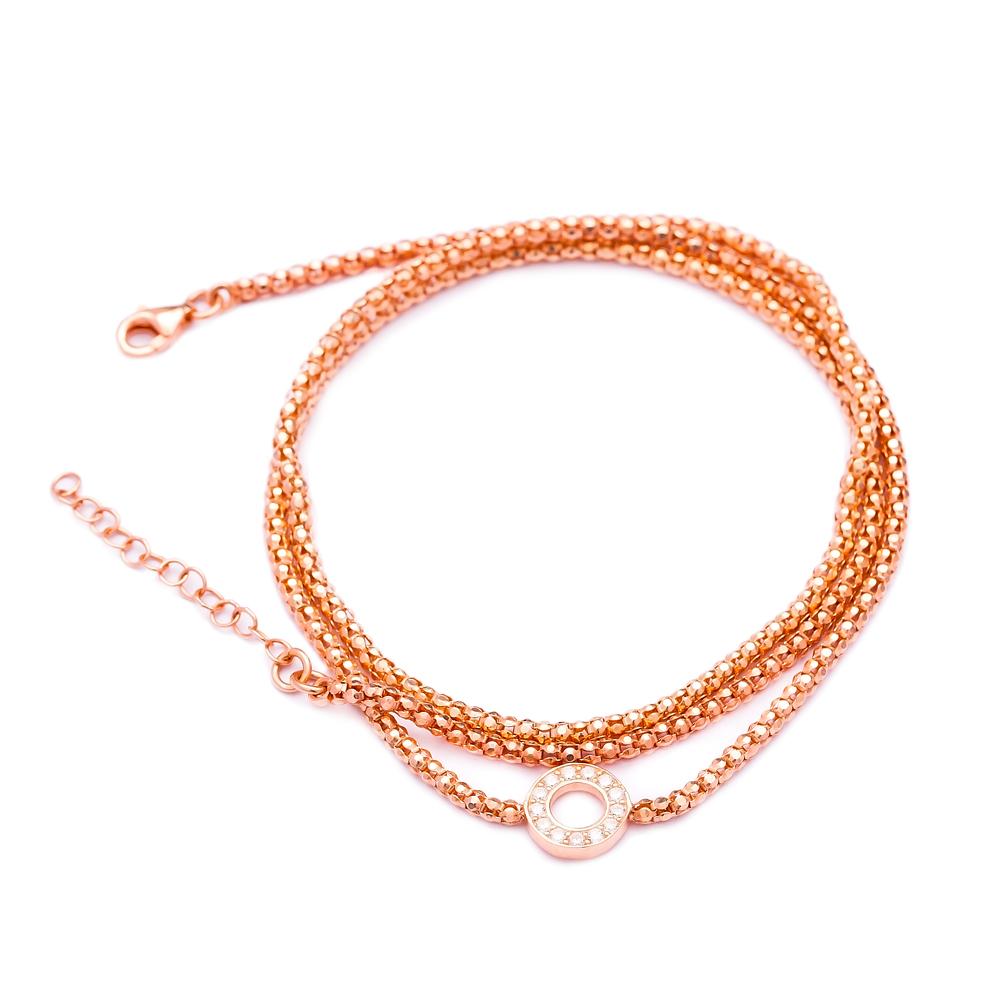 Fashion Beaded Silver Sterling Bracelet Wholesale Handcraft Jewelry