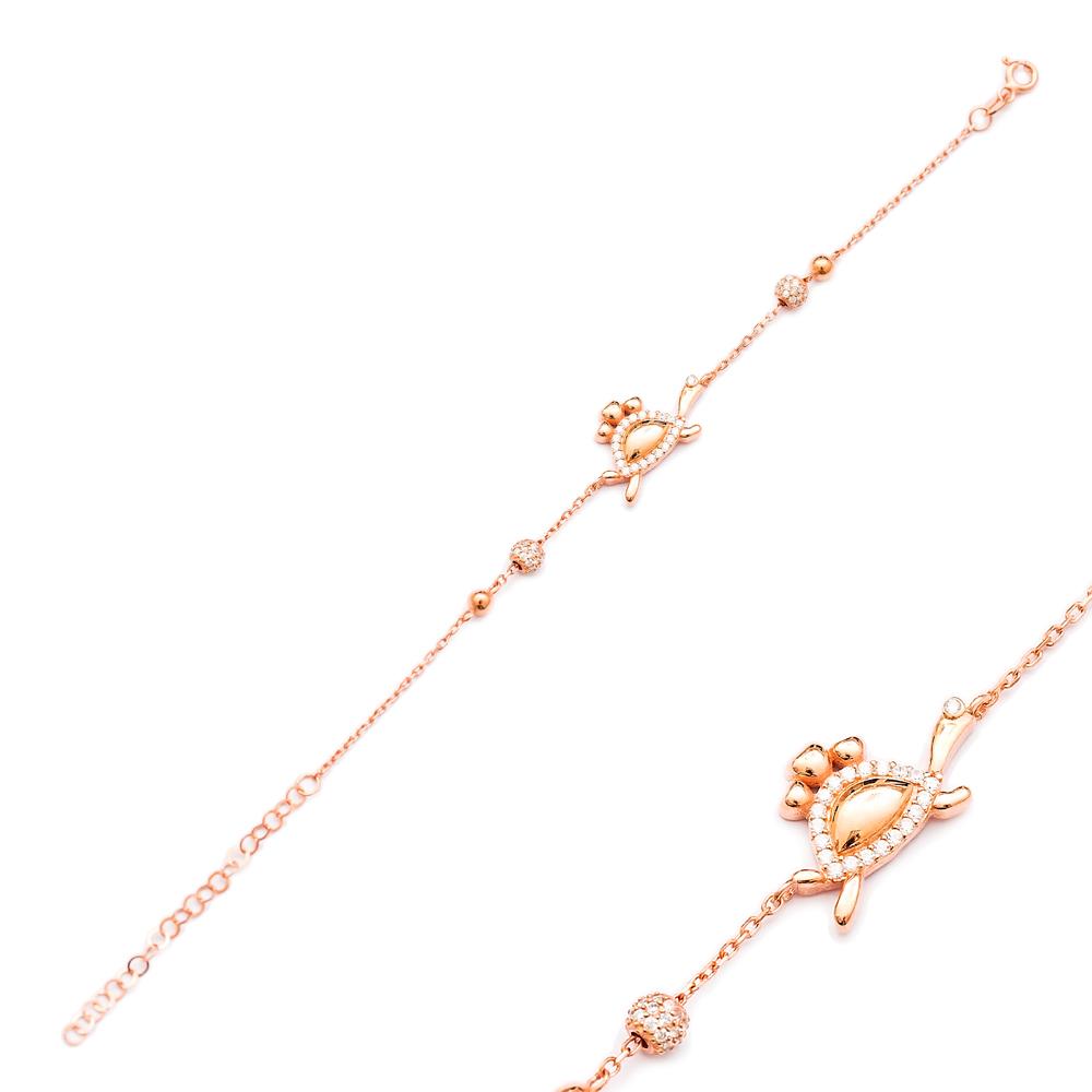 Turtle Design Bracelet Wholesale Handcraft 925 Sterling Silver Jewelry