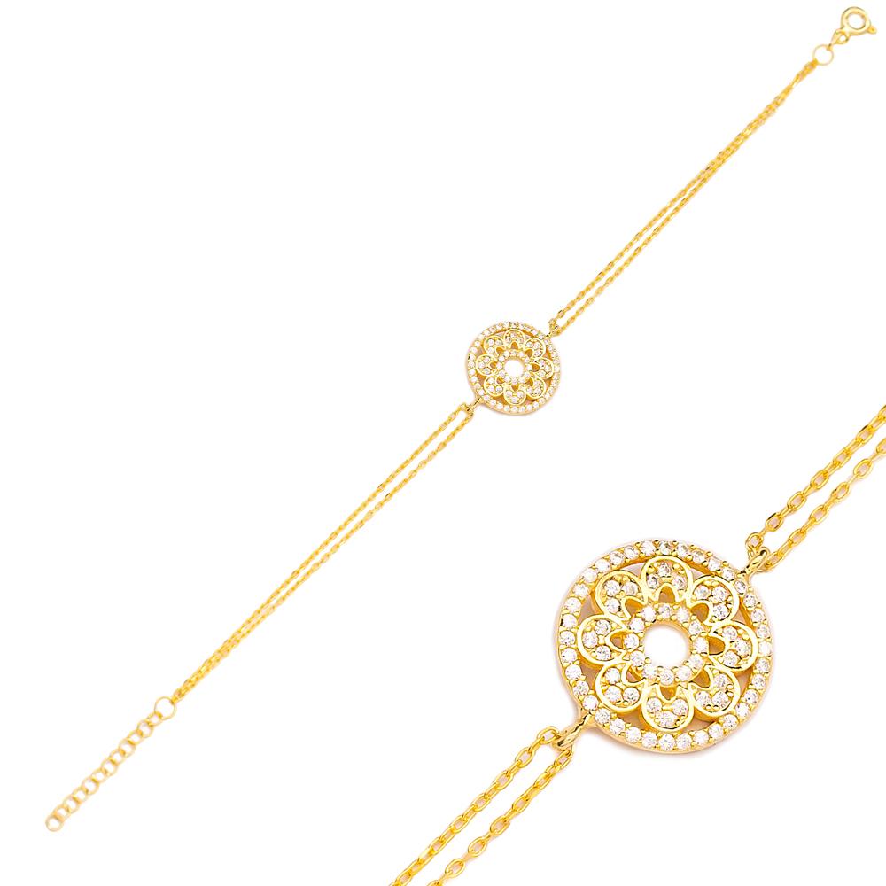 Fashionable Design Charm Bracelet Turkish Wholesale Handmade 925 Sterling Silver Jewelry