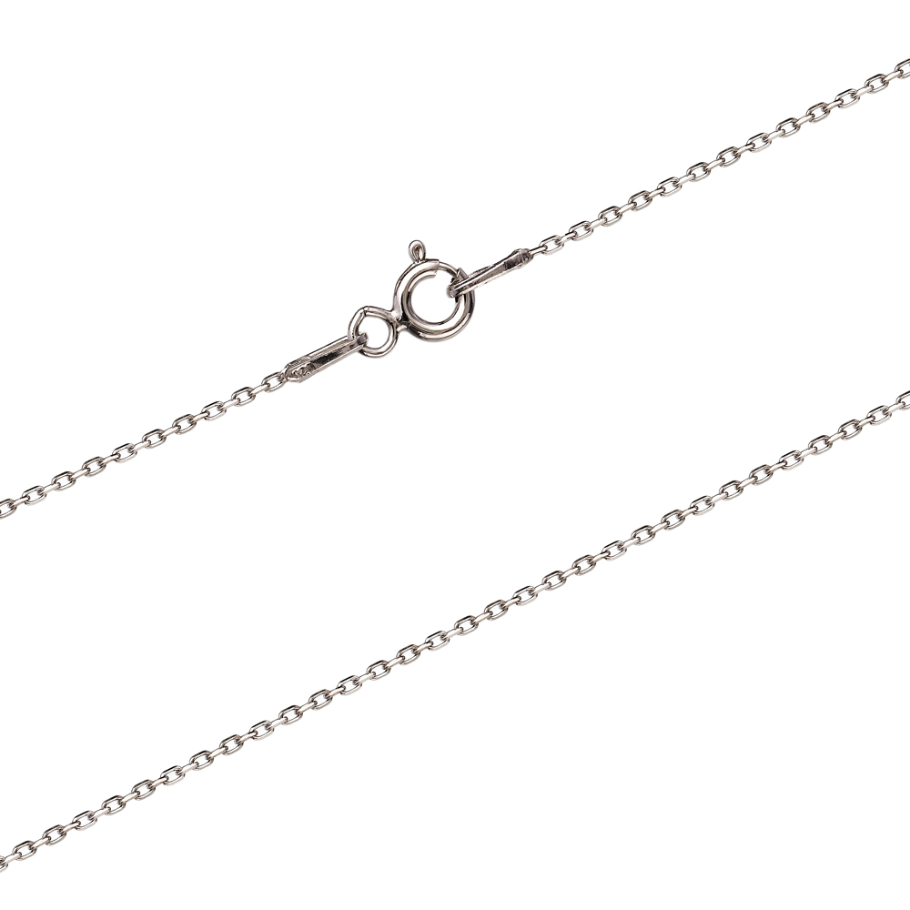 30 Micron Forzentina Rhodium Plated Chain Silver Necklace