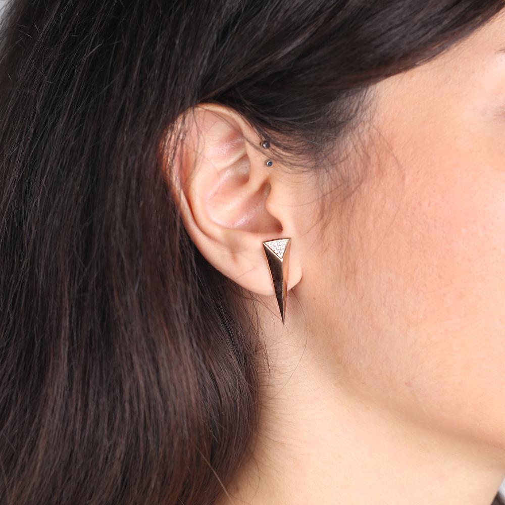 Dainty Unique Design Earrings Handmade Wholesale Sterling Silver Jewelry