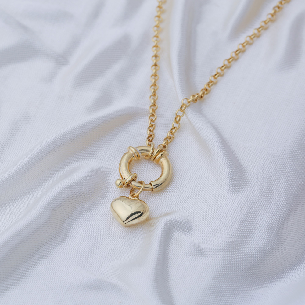 Heart Charm Round Hollow Pendant Wholesale 925 Sterling Silver Jewelry