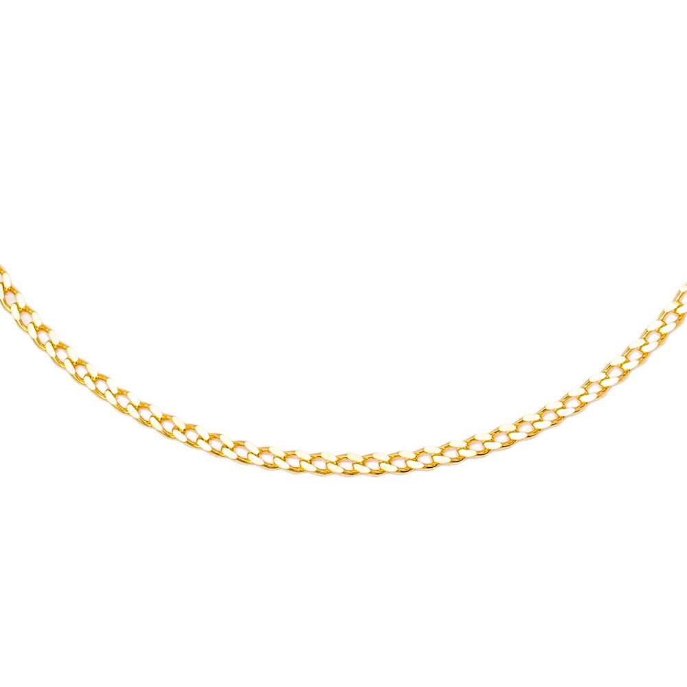Gourmet Chain Minimalist Design Anklet Wholesale Handmade 925 Sterling Silver Jewelry