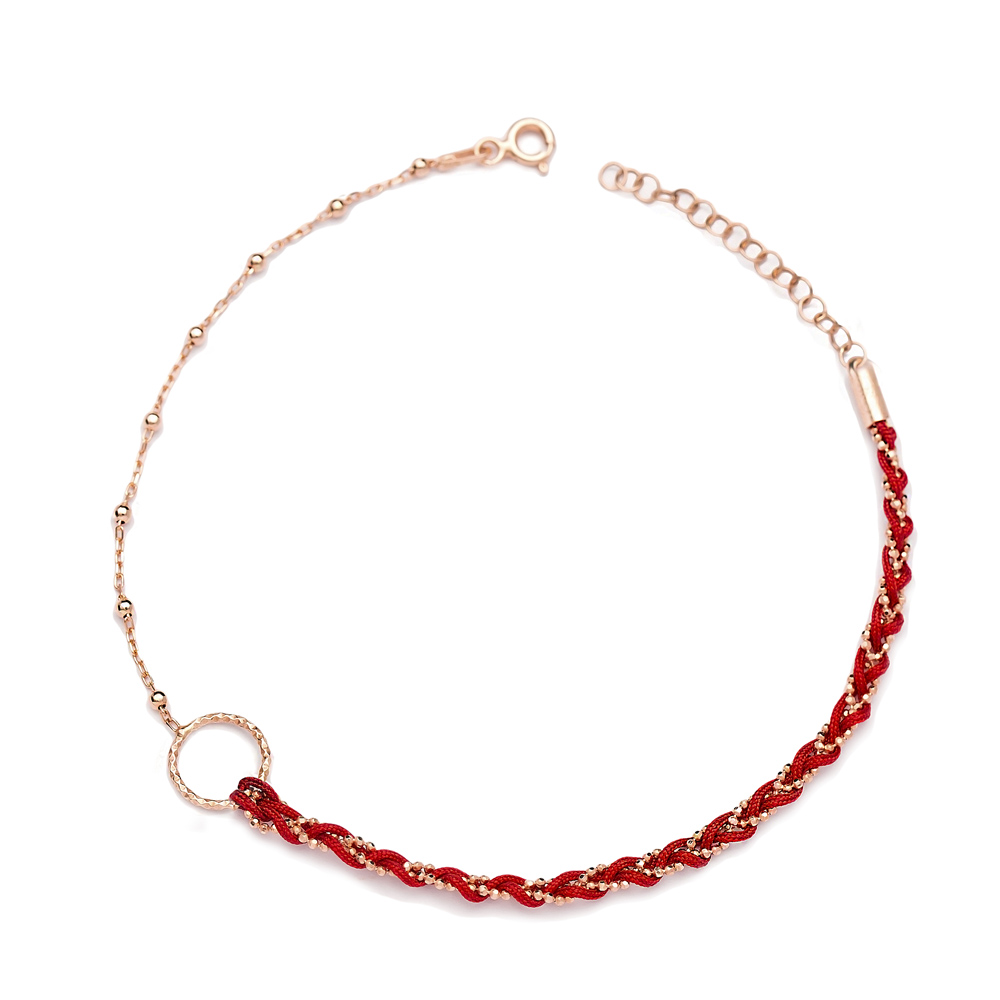 Unique Design Ball Chain Anklet Wholesale Handmade Turkish 925 Sterling Silver Jewelry