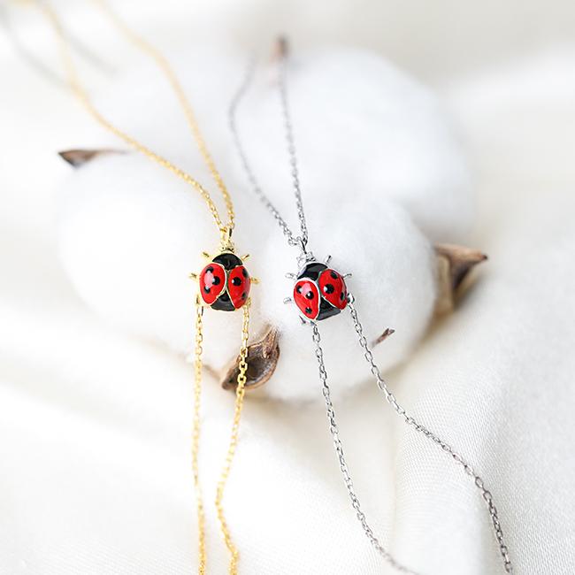 Wholesale Handmade Turkish 925 Silver Sterling Ladybug Design Slave Bracelet