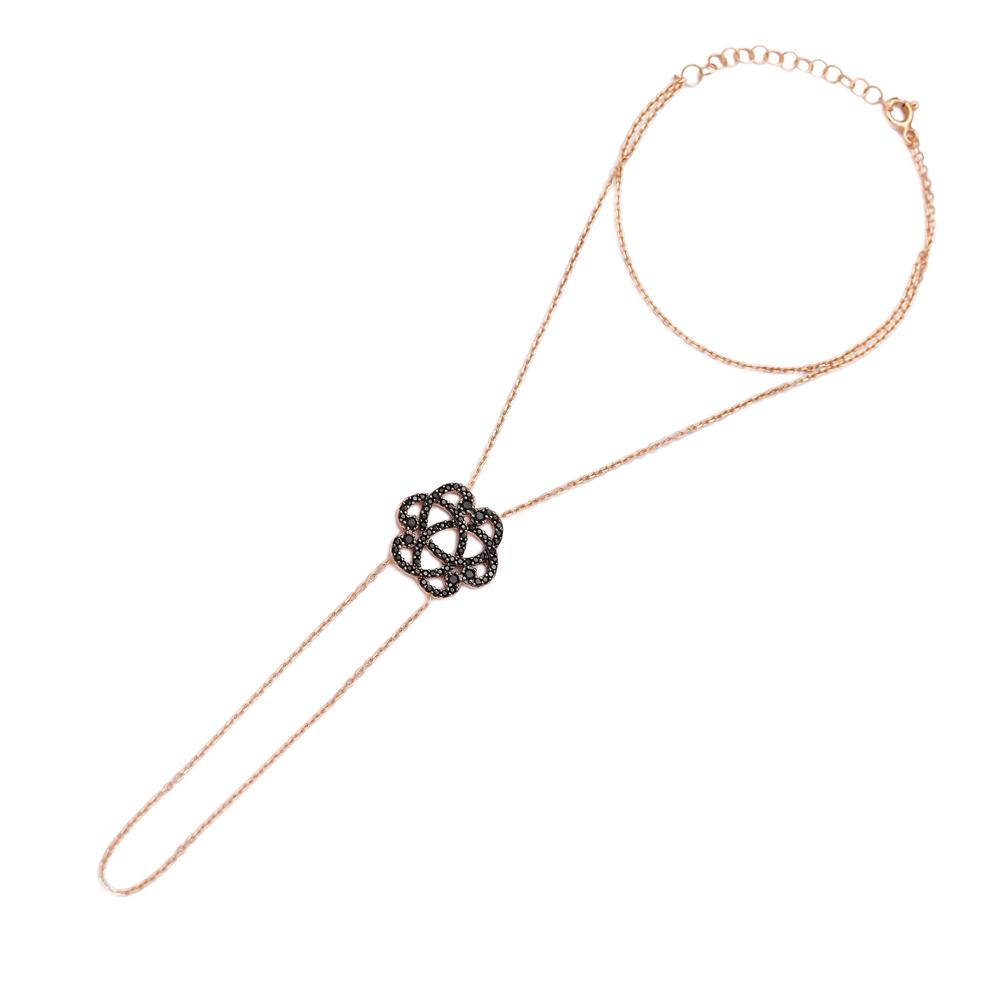 Dainty Finger Bracelet In Wholesale 925 Sterling Silver Jewelry