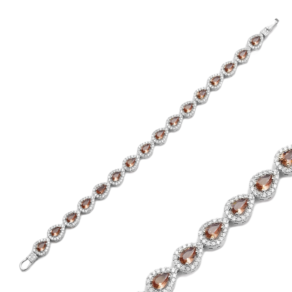 Zultanite Stone Drop Shape Elegant Bracelet 925 Silver Sterling Wholesale Handcrafted Jewelry