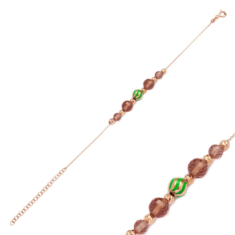 Zultanite Stone Simple Charm Bracelet Wholesale 925 Sterling Silver Jewelry