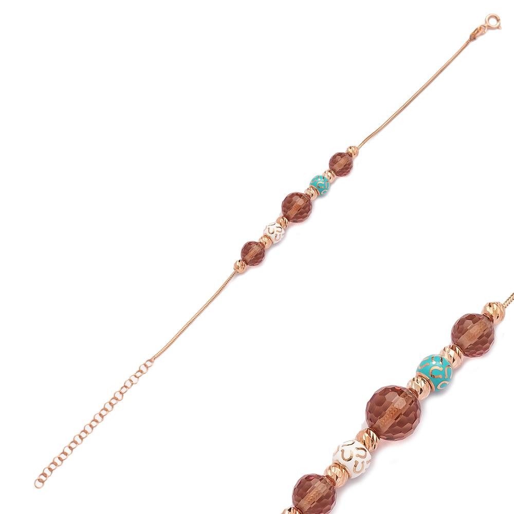 Lucky Horseshoe Charm Zultanite Stone Bracelet Wholesale 925 Sterling Silver Jewelry