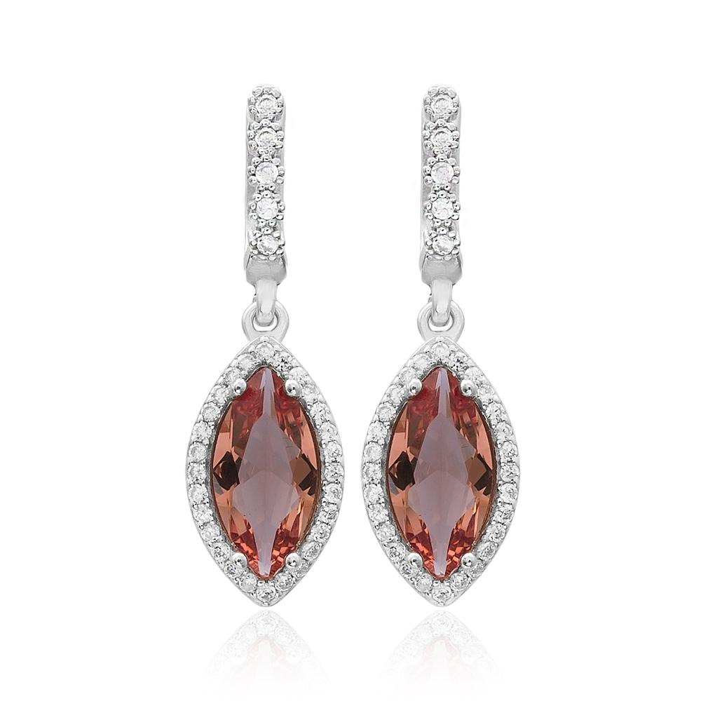Trendy Design Zultanite Stone Earrings Turkish Wholesale 925 Sterling Silver Jewelry
