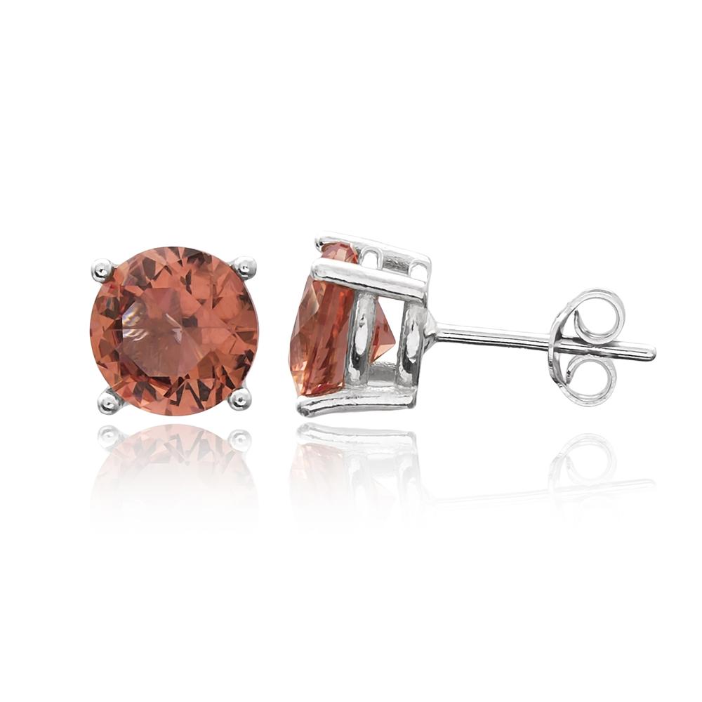 Minimalist Zultanite Stone Earrings Turkish Wholesale 925 Sterling Silver Jewelry
