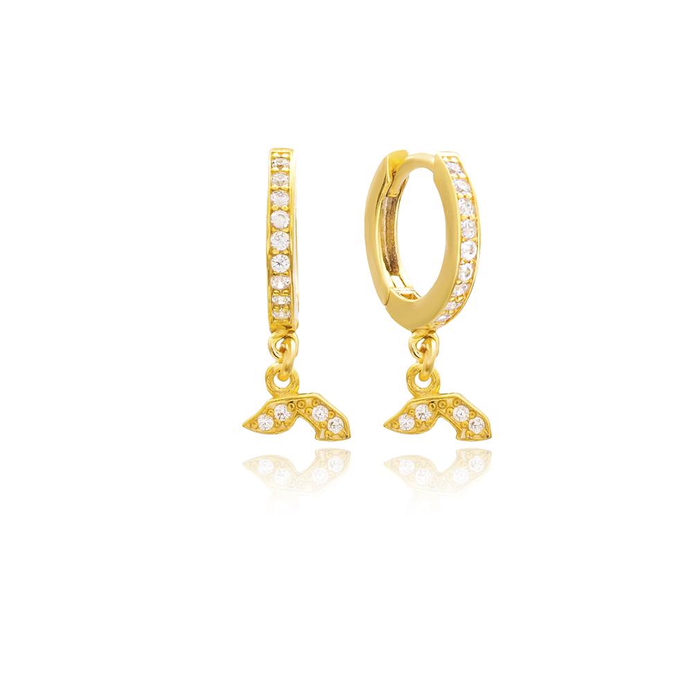 Yud Letter Hebrew Alphabet Wholesale Handmade 925 Sterling Silver Dangle Earrings