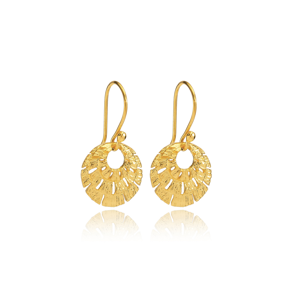 Silver 22k Gold Plated Vintage Earrings Wholesale 925 Silver Jewelry