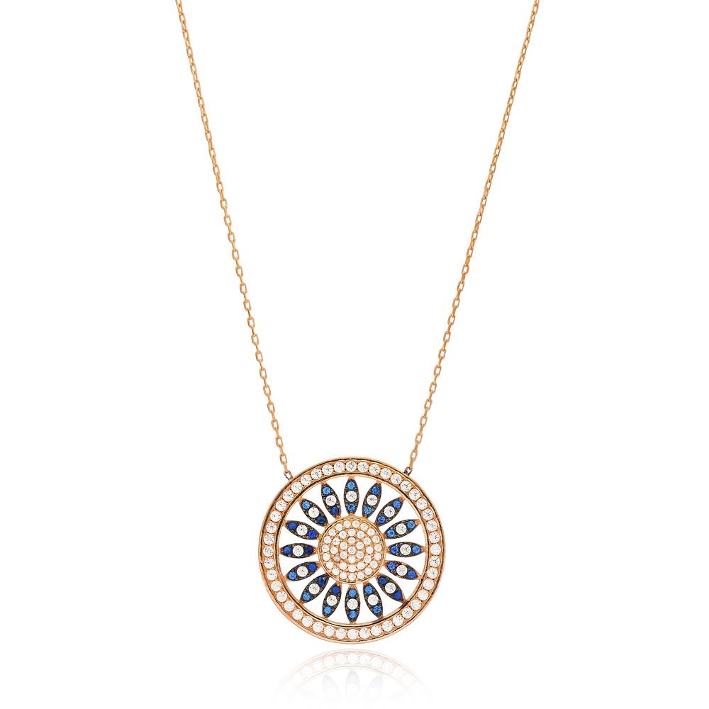Pattern Design Pendant Turkish Wholesale 925 Sterling Silver Jewelry