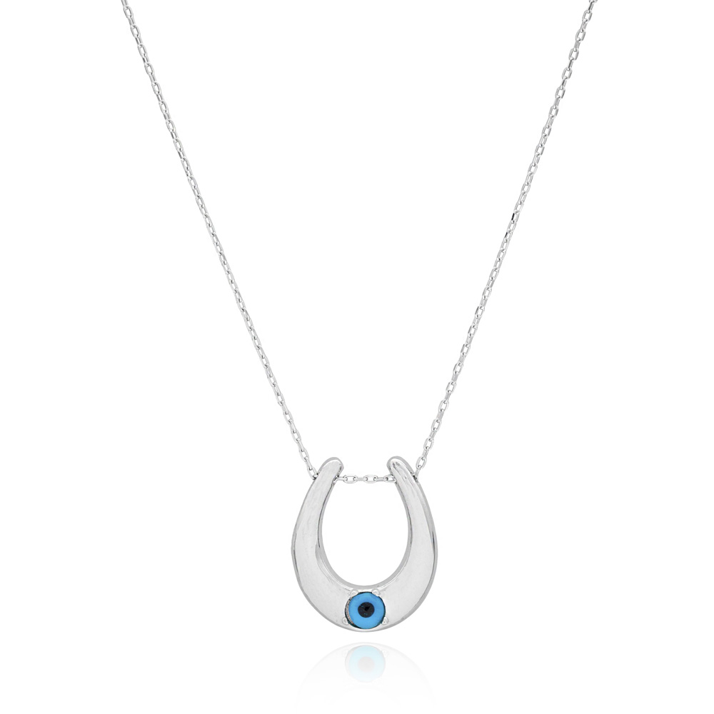 Evil Eye Pendant In Wholesale Handcrafted 925 Sterling Silver Jewelry